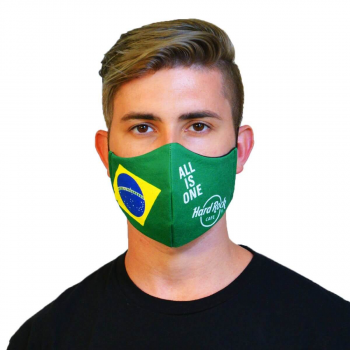 Country Flag Face Mask Brazil