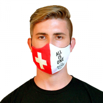 Country Flag Face Mask Switzerland