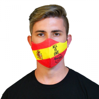 Country Flag Face Mask Spain