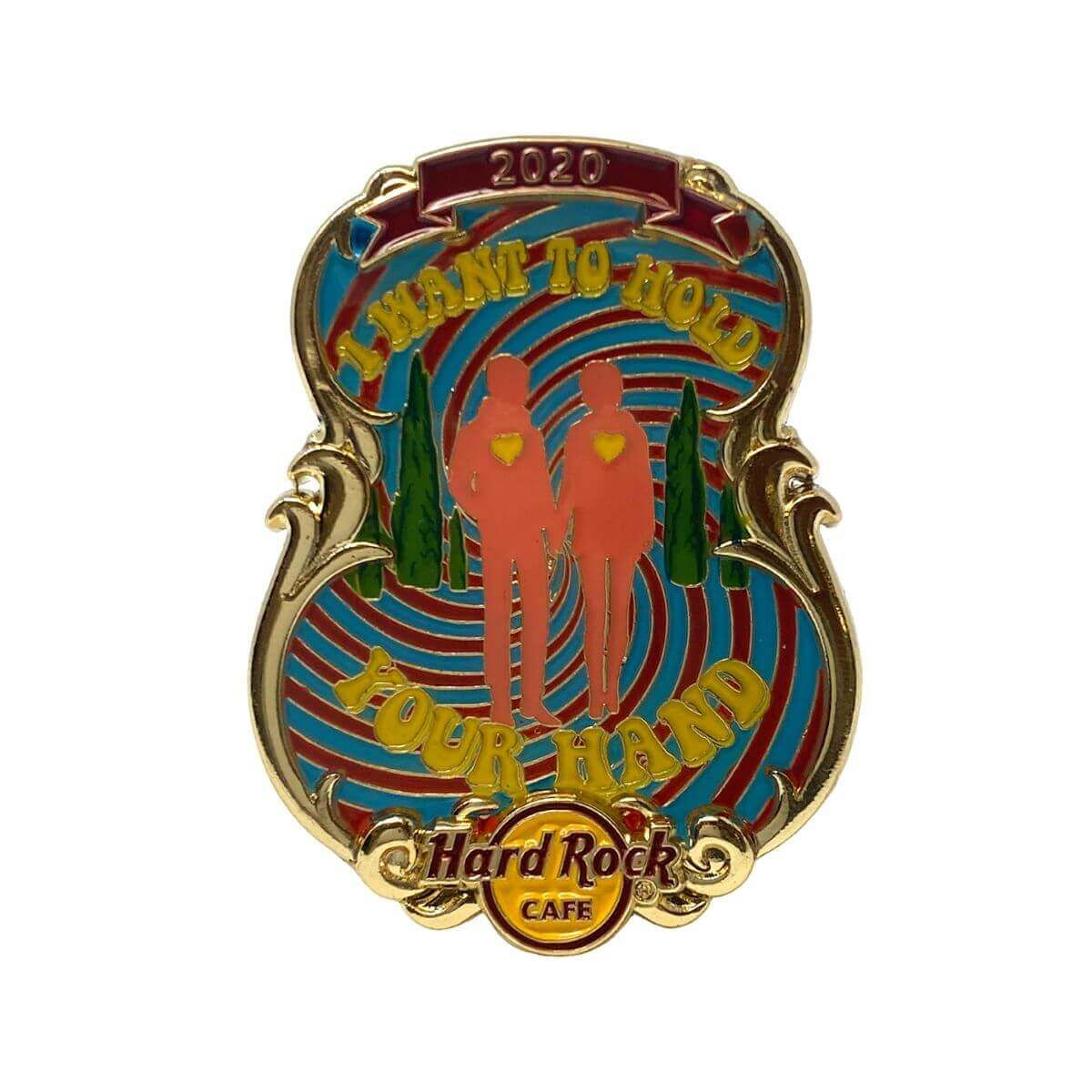 3D Lyric Series I Want to Hold Your Hand Pin
