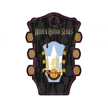 Houston Hidden Guitar Pin