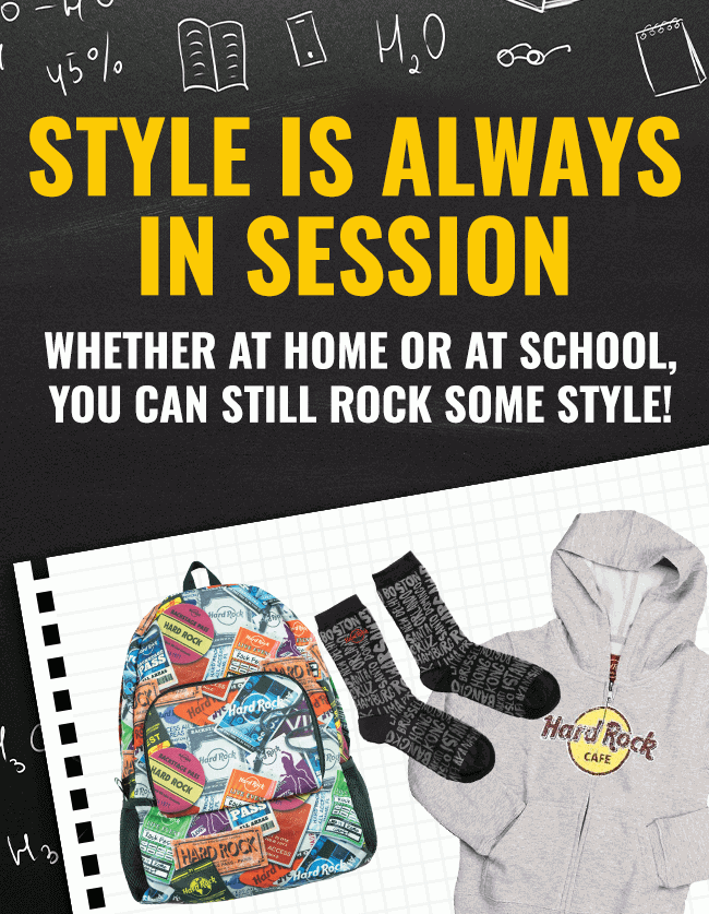 Hard Rock Back to School Collection
