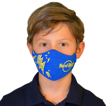 Kids Rock N Roll Face Mask