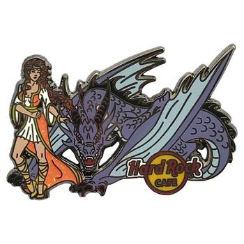 Dragon and Girl Pin #3