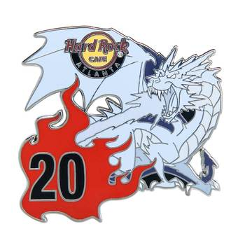 Ice Dragon Puzzle Piece Pin Atlanta