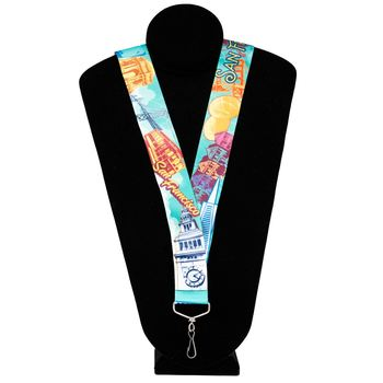 San Francisco City Pin Lanyard