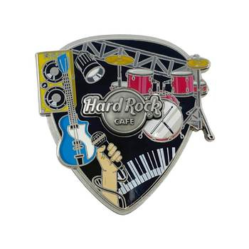 3D Musical Stage Collage Pick Pin