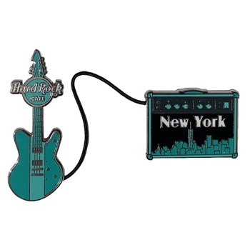 Cityscape Guitar & Amp Pin Set New York