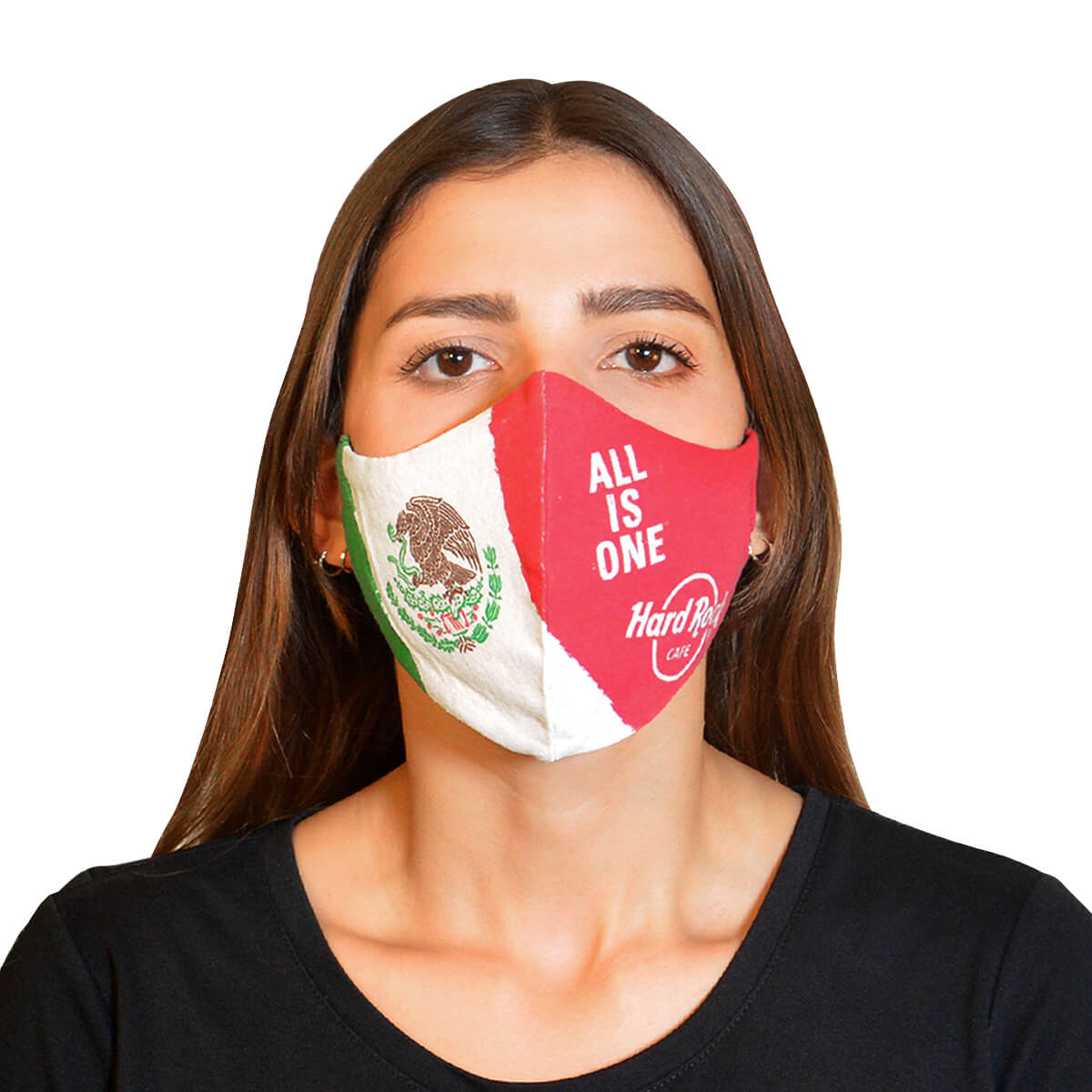Country Flag Face Mask Mexico