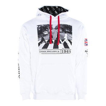 Unisex Beatles Abbey Road Hoodie White