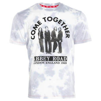 Men's The Beatles Come Together Cloud Wash Tee