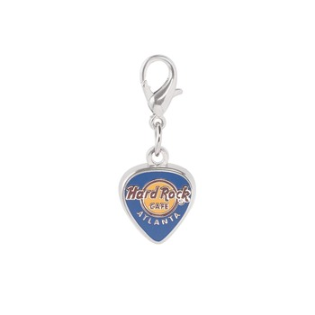 Logo Guitar Pick Charm