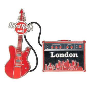 Cityscape Guitar & Amp Pin Set London