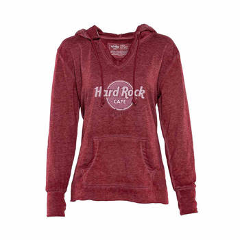 Women's Classic Lightweight French Terry Hoodie