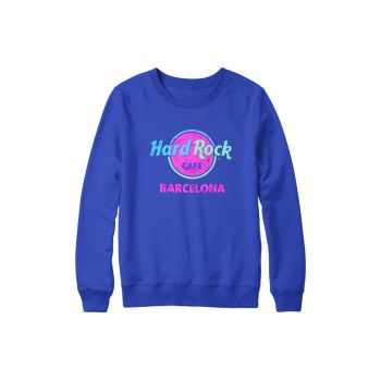 Unisex Barcelona Throwback Logo Sweatshirt