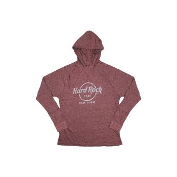 Men's Athletic Pullover Hood Tee
