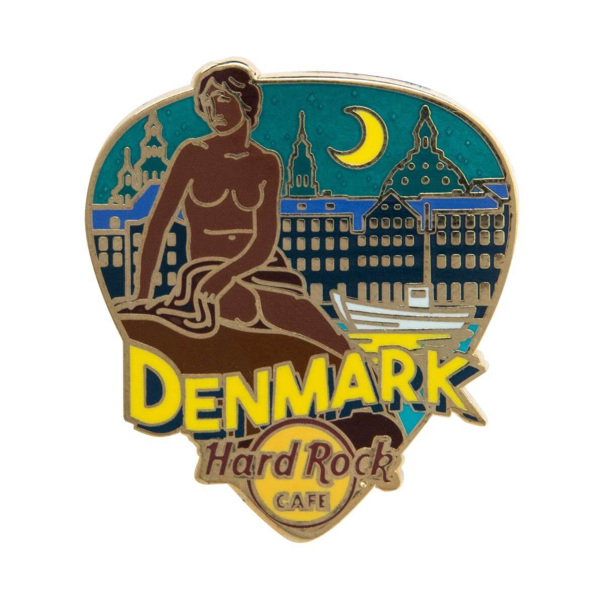 Country Greetings From Pin Denmark