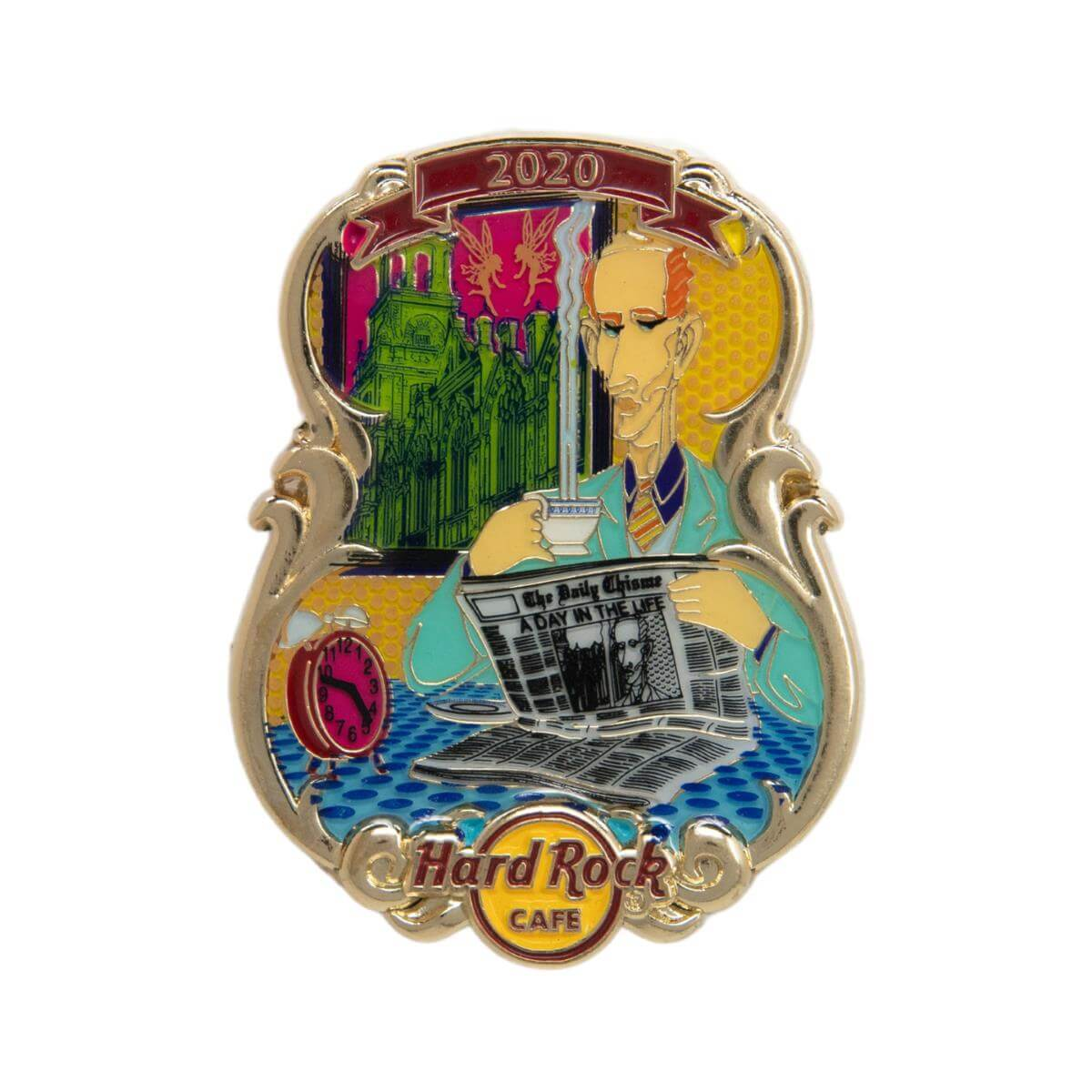 3D Lyric Series A Day in the Life Pin