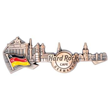 3D Skyline Guitar Country Pin Germany