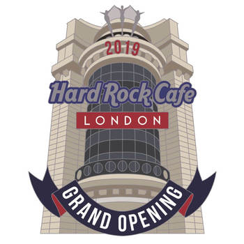 London Piccadilly Grand Opening Facade Pin