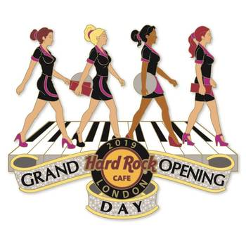 London Piccadilly Grand Opening Waitresses Pin