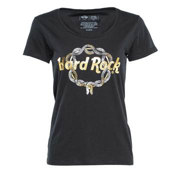 Women's Laura Be Snake Chain Tee