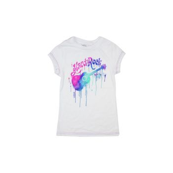 Girls Paint Drip Guitar Tee