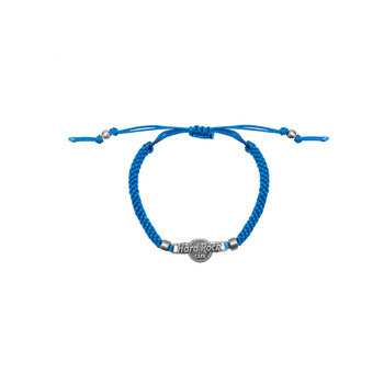 Blue Braided Friendship Bracelet