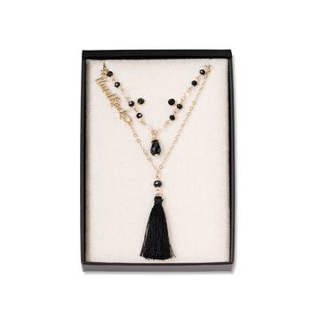 Necklace and Earrings Boxed Set