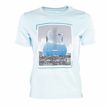 Kids Guitar Hotel Foil Photo Tee