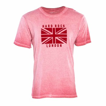 Men's Union Jack Flag Washed Tee