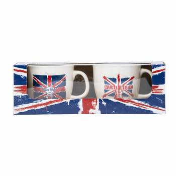 Union Jack Flag Boxed Mug Set