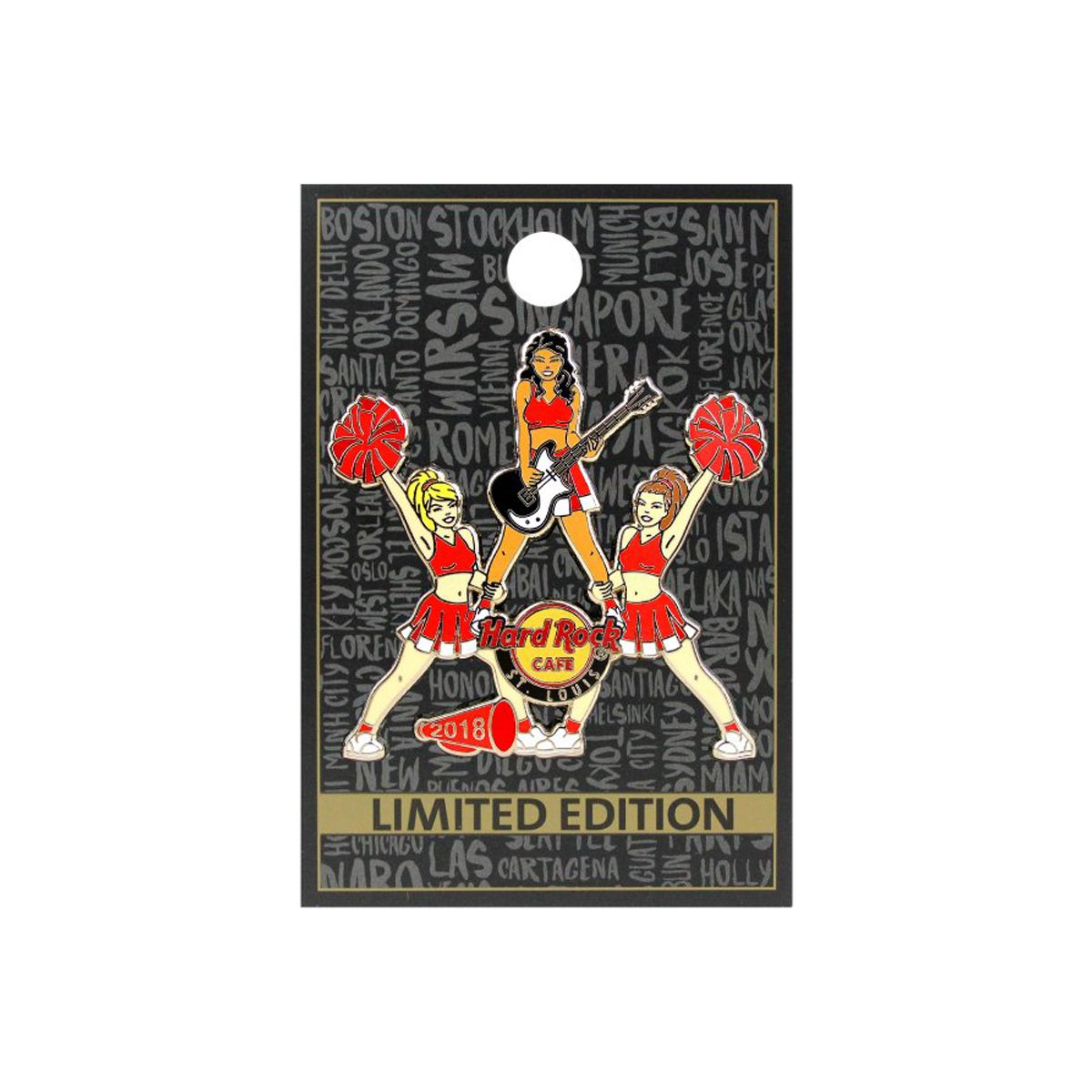 St. Louis Cheer Pin 2018