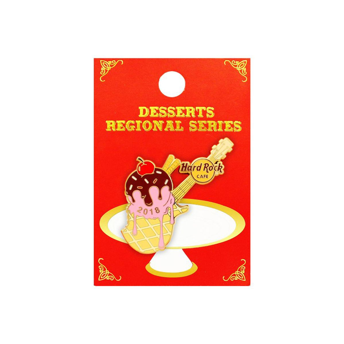Famous Desserts Series Pin 2018