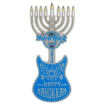 2020 Hanukkah Guitar Pin