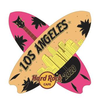 Los Angeles Surfing Pin