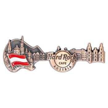 3D Skyline Guitar Country Pin Austria
