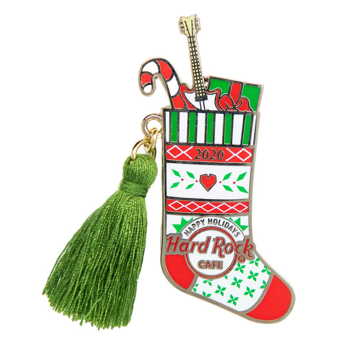 2020 Holiday Stocking Online Only Pin