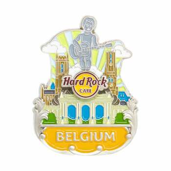 3D Country Icon Pin Belgium