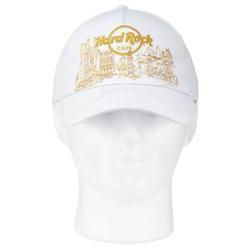 Gold Skyline Hat