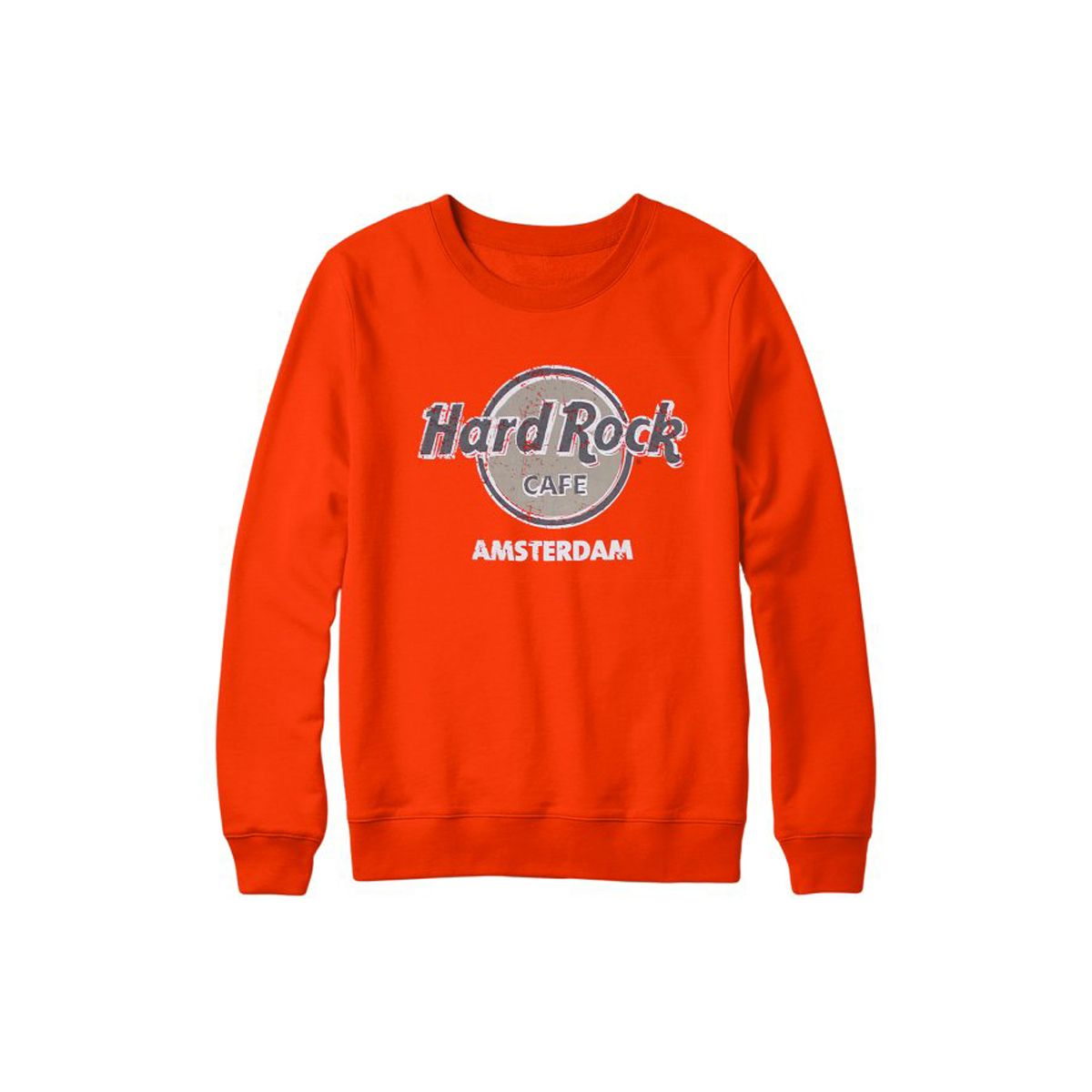 Unisex Amsterdam Throwback Logo Sweatshirt