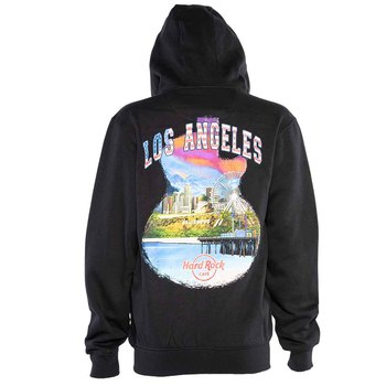 Men's Guitar City Art Hoodie