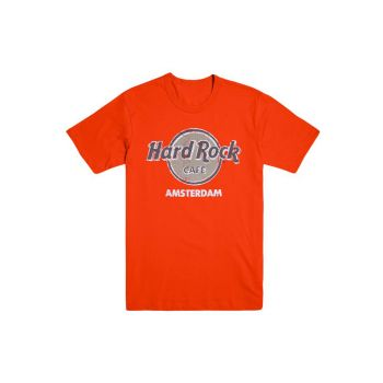 Amsterdam Throwback Logo Tee