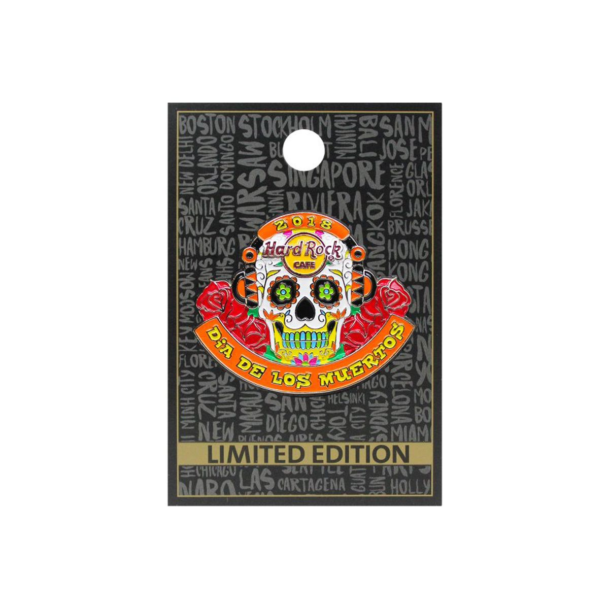 2018 Day Of The Dead Pin