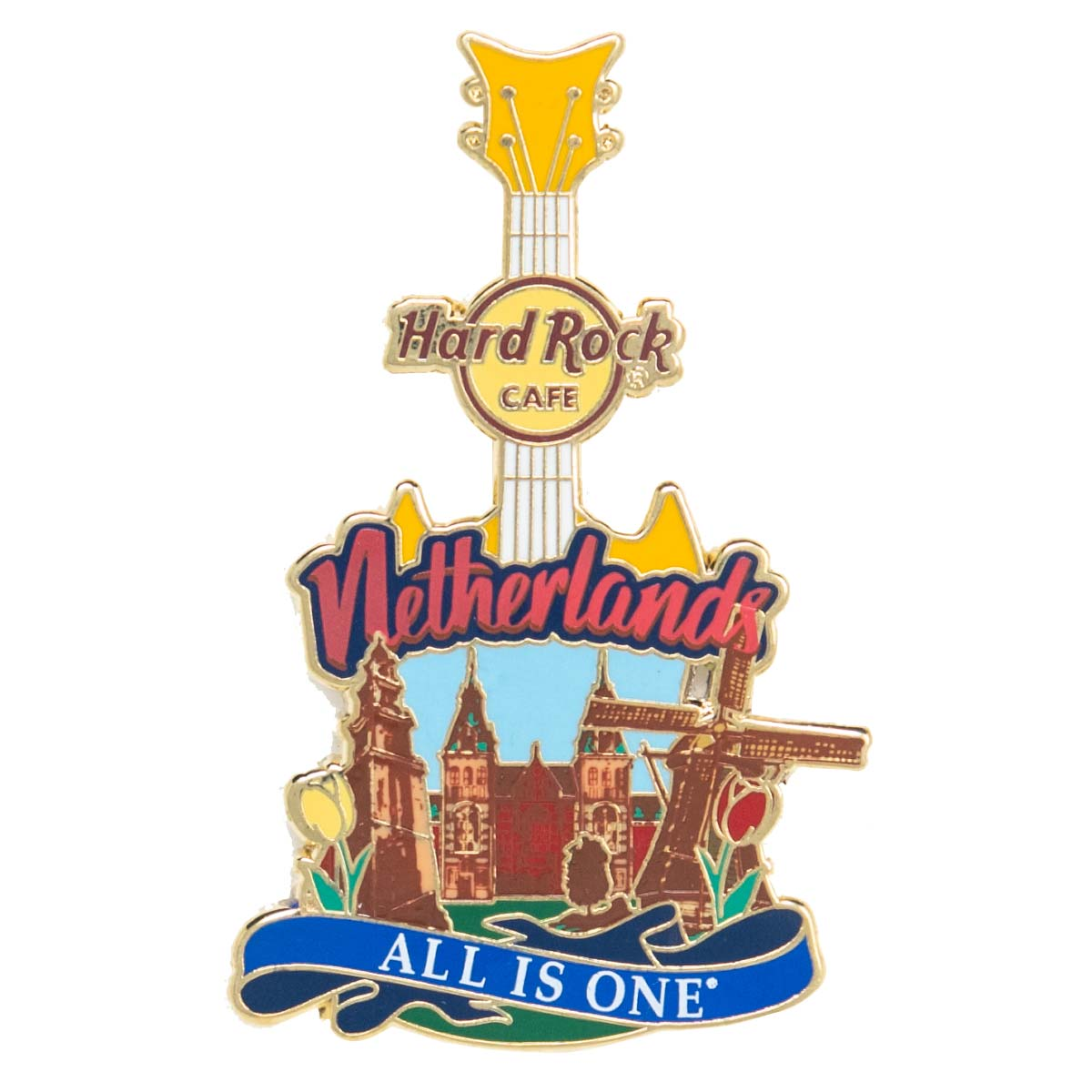 Country Guitar Pin Netherlands