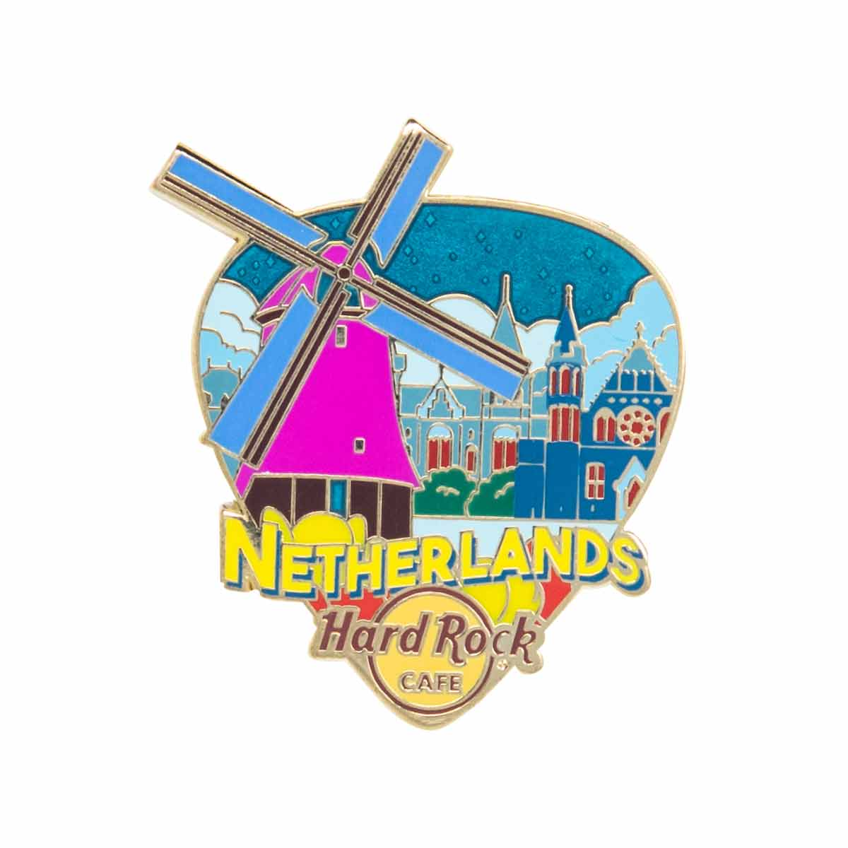 Country Greetings From Pin Netherlands
