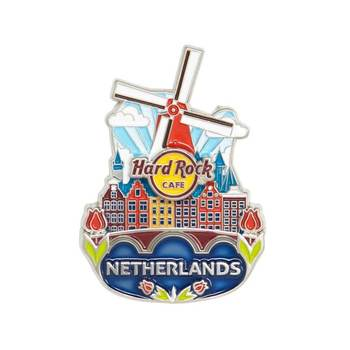 3D Country Icon Pin Netherlands