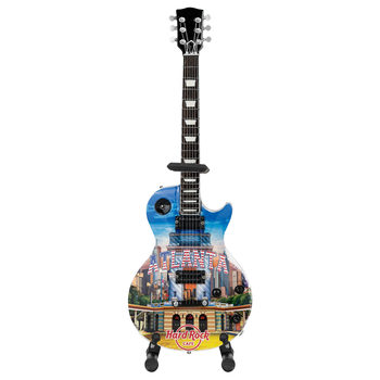 "Country Colors 10"" Mini City Guitar with Stand"