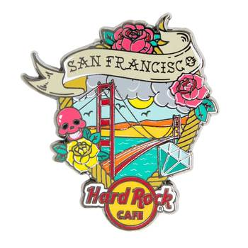 Tattoo City Pin San Francisco