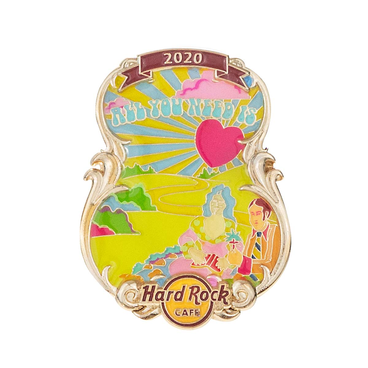 3D Lyric Series All You Need Is Love Pin